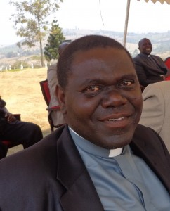 Rev. Can. Yoramu Ntoreine.  Diocesan Secreatry