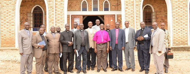 The Two Bishops and their Archdeacons
